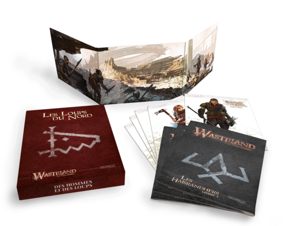 WASTELAND - Les Terres Gâchées - V Les Loups du Nord