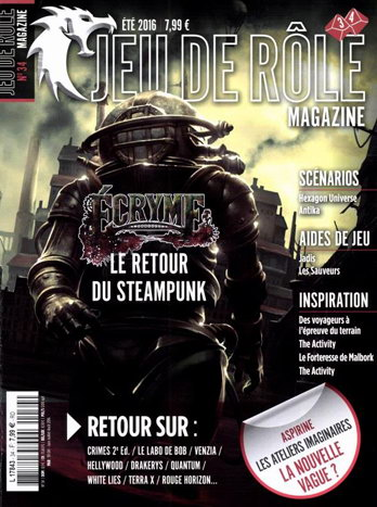 Jeu de rôle magazine n° 34