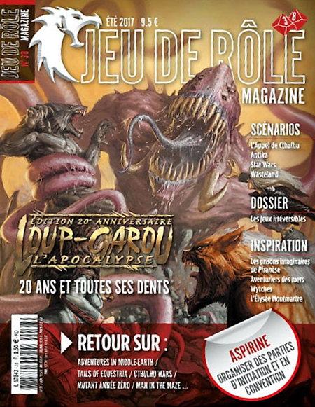 Jeu de rôle magazine n° 38