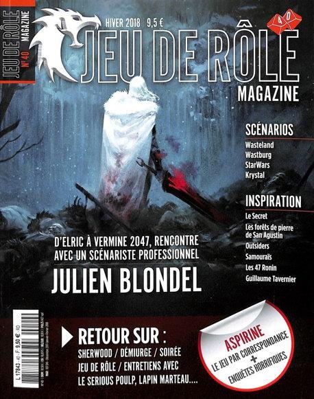 Jeu de rôle magazine n° 40