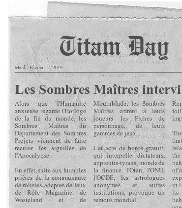 Titam - Département des Sombres Projets