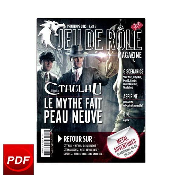 TITAM - Jeu de rôle magazine n° 29 - Numérique