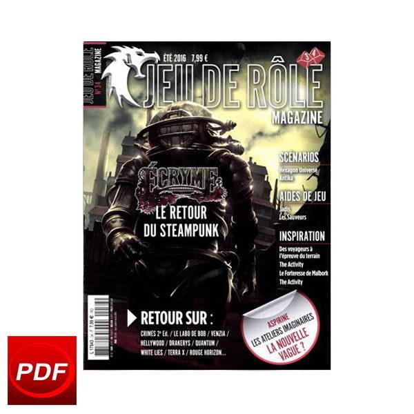 Jeu de rôle magazine n° 34 - Numérique