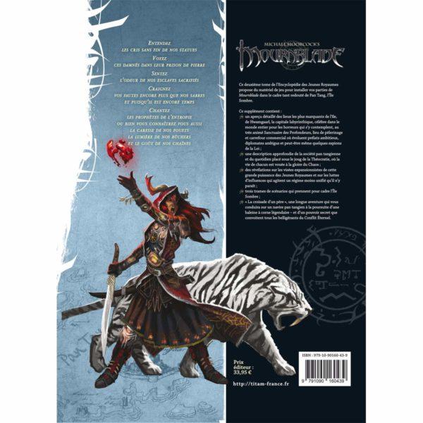 Mournblade - Encyclopédie des Jeunes Royaumes - Pan Tang