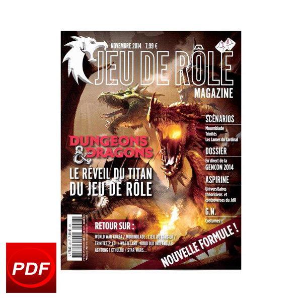 TITAM - Jeu de rôle magazine n° 28 - Numérique